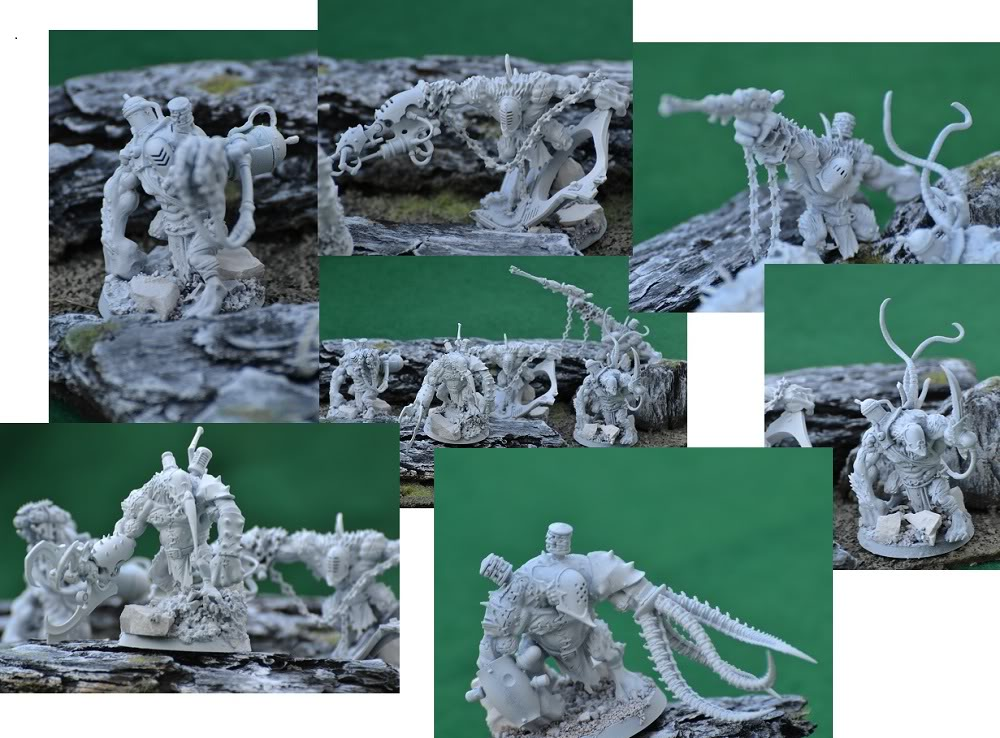 The Serpents' Breath - June 29, the first skimmers and bikes for my Harlies Grotesquemash-up