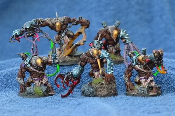 The Serpents' Breath - June 29, the first skimmers and bikes for my Harlies GrotesquessquadfromRatOgres