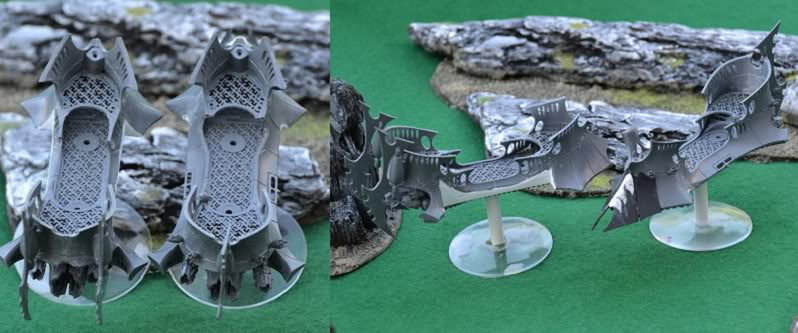 The Serpents' Breath - June 29, the first skimmers and bikes for my Harlies Vehiclehulls