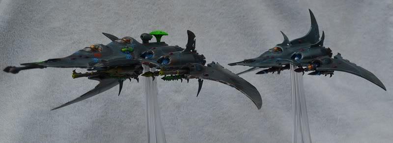 Razorwing Jetfighters and Voidraven Bombers VoidravenandRazorwingC