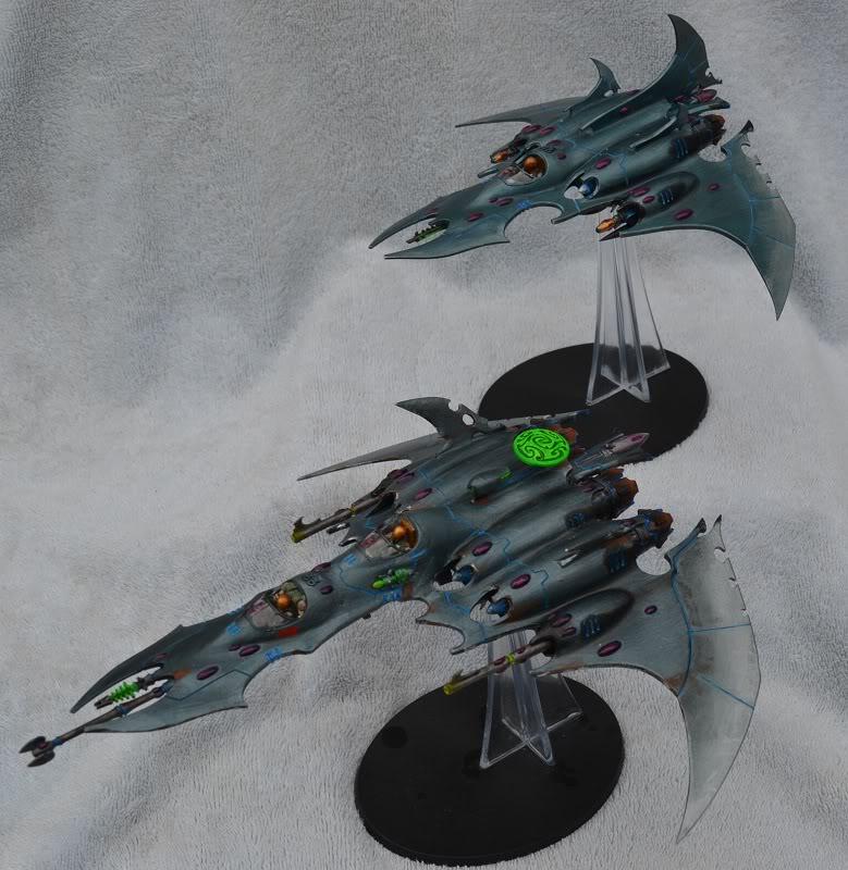 Razorwing Jetfighters and Voidraven Bombers VoidravenandRazorwingE