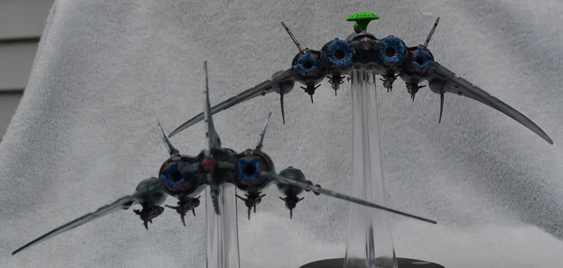 Razorwing Jetfighters and Voidraven Bombers VoidravenandRazorwingG