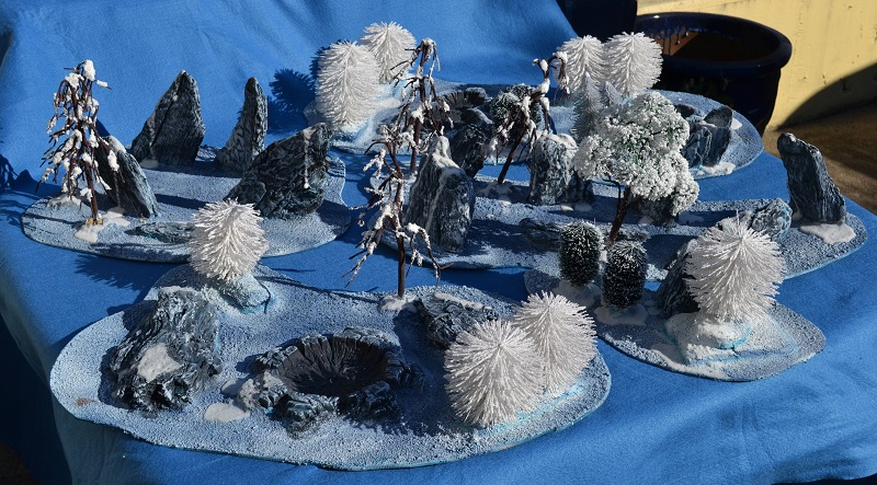 The Road to Commorragh - terrain projects WarhammerWinterTerrain1