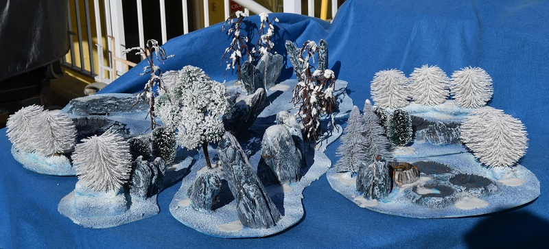 The Road to Commorragh - terrain projects WarhammerWinterTerrain2