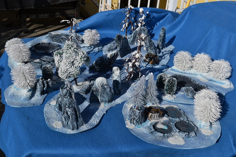 The Road to Commorragh - terrain projects WarhammerWinterTerrain3