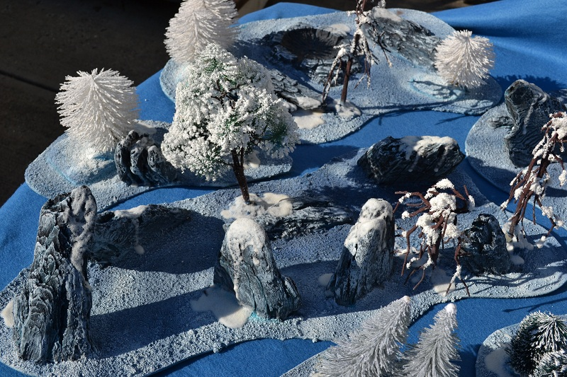 The Road to Commorragh - terrain projects WarhammerWinterTerrain6