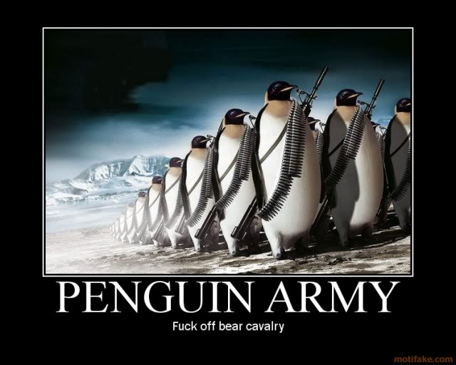 The official thread of lulz. Penguins