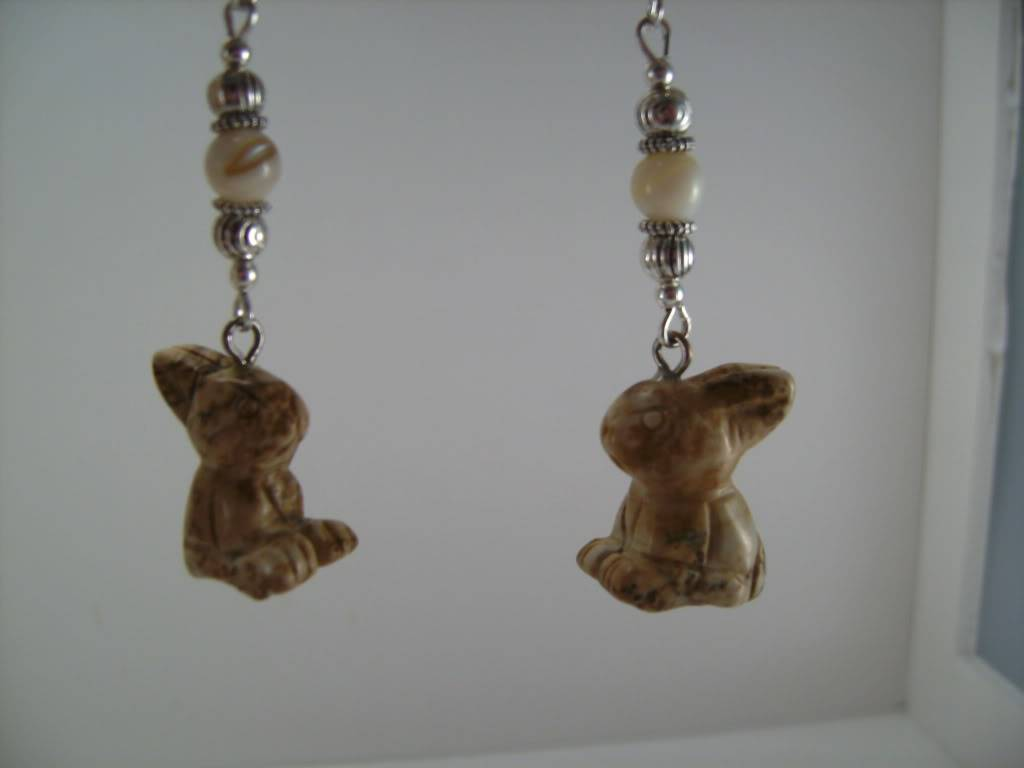 Easter and Other Spring Earrings By Me! PICT6230