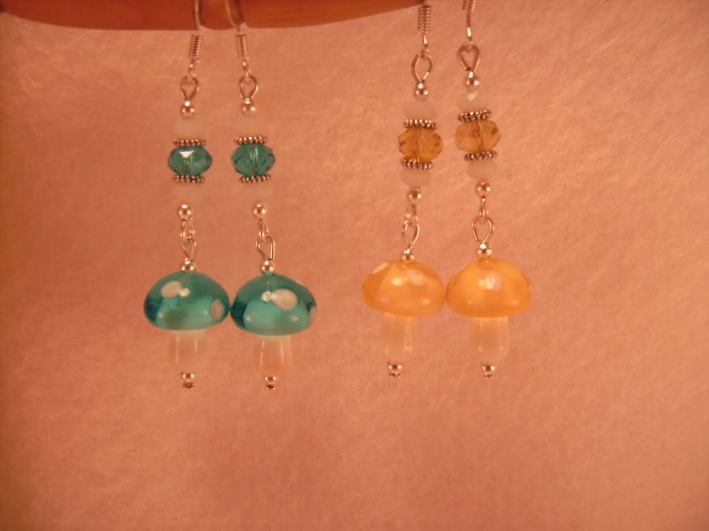 Easter and Other Spring Earrings By Me! PICT6254