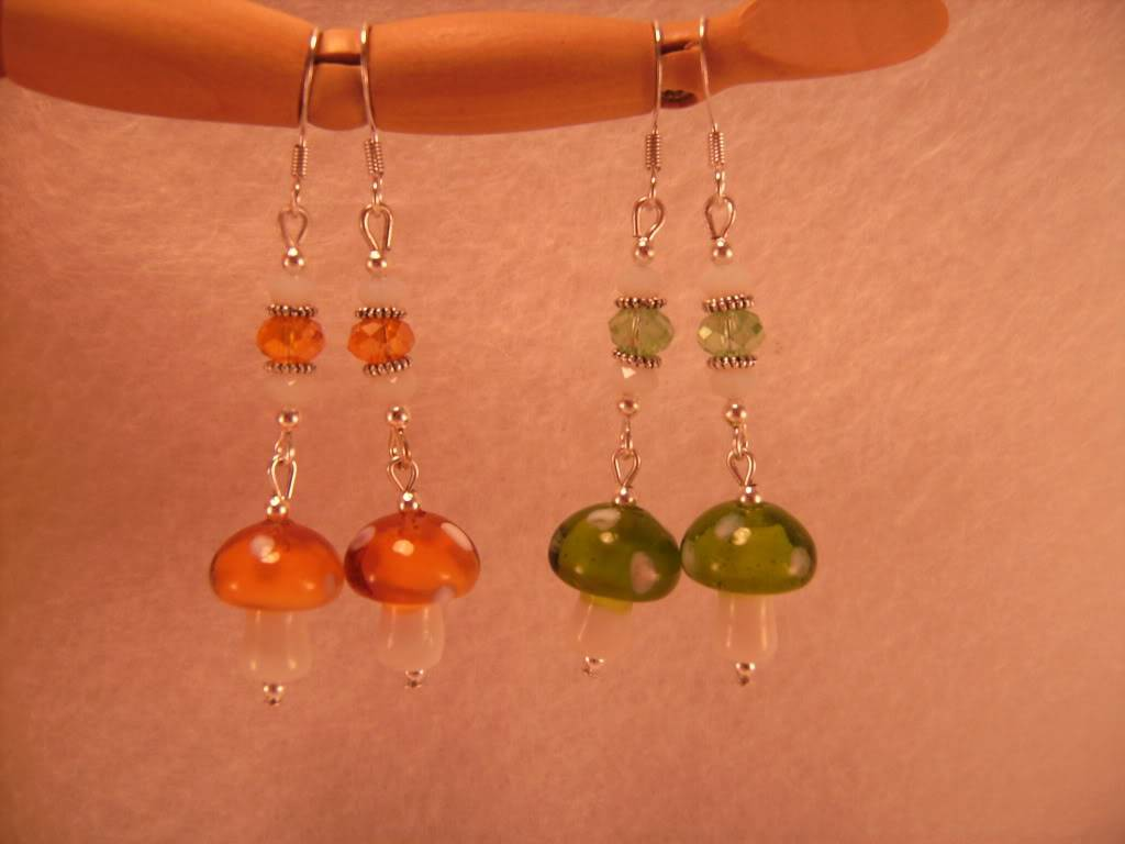 Easter and Other Spring Earrings By Me! PICT6257