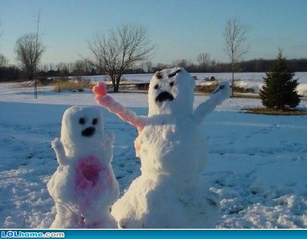 Caption, Caption, Caption Snowman