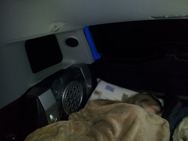 Sleeping in the back of the FJ 2011-12-31054747