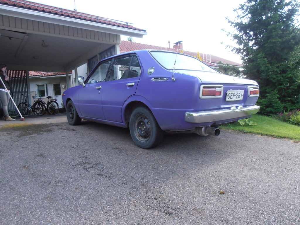 A Boost from the Past - Corolla TE30 2T-GEU TIC P8090013