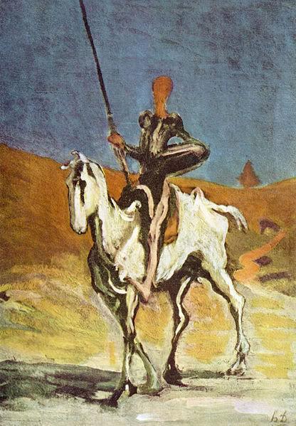 Ljudi koji lepo crtaju Daumier-Quixote