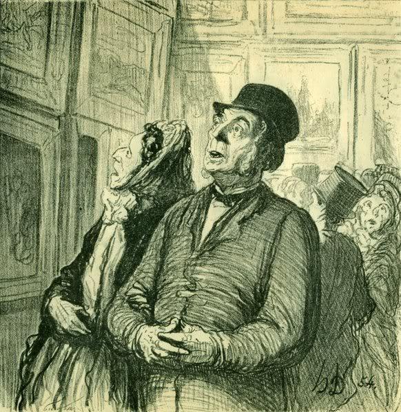 Ljudi koji lepo crtaju Daumier-sunday-at-the-museum