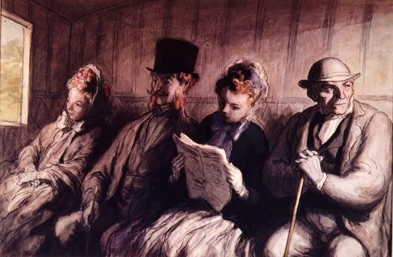 Ljudi koji lepo crtaju Daumier_inter_1856
