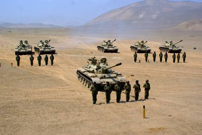 ARMA DE BLINDADOS DEL EJERCITO PERUANO T-55Cesar0011
