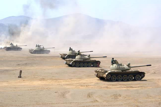 ARMA DE BLINDADOS DEL EJERCITO PERUANO T-55Cesar011