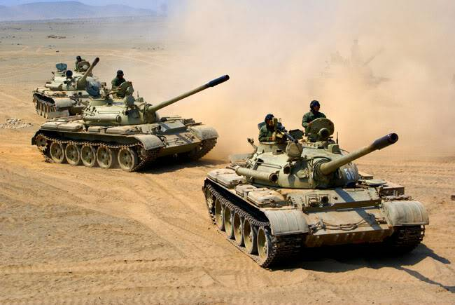ARMA DE BLINDADOS DEL EJERCITO PERUANO T-55Cesar11