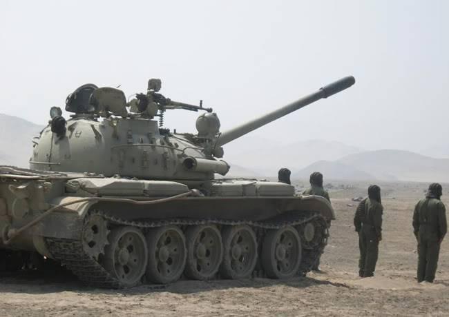 ARMA DE BLINDADOS DEL EJERCITO PERUANO T-55Tacna-Cesar0011-1