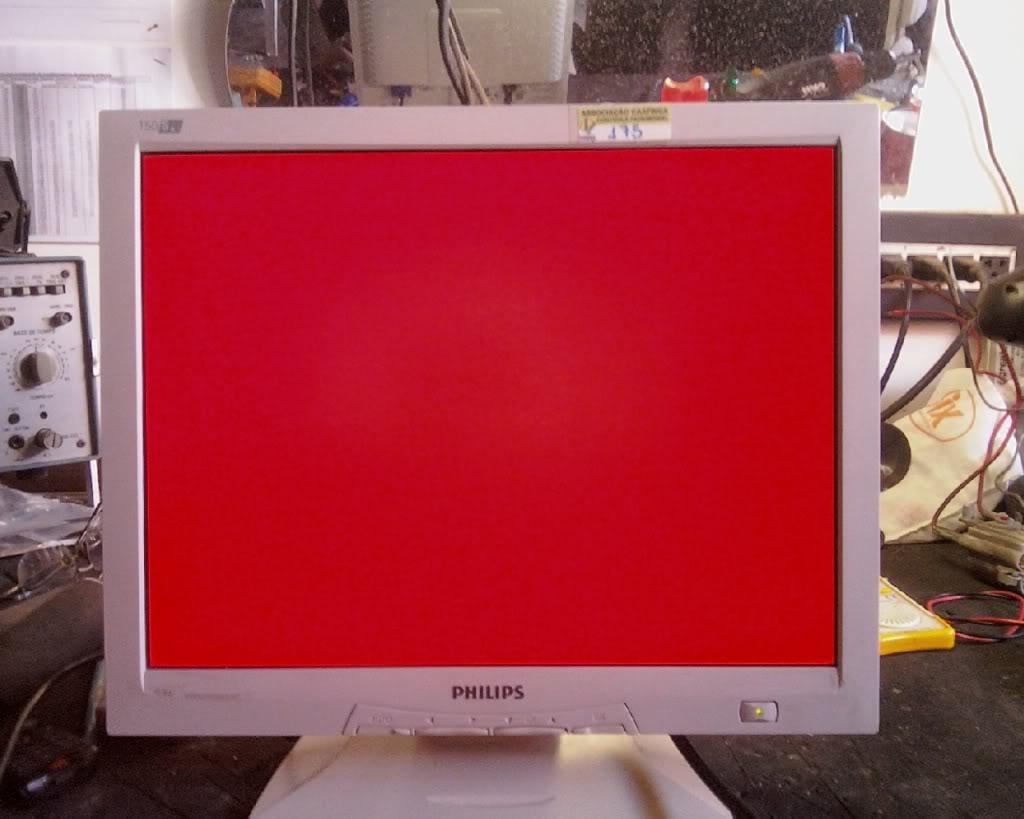 Gerador de padrões para monitor. IMG191-01