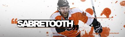 Philadelphia Flyers.  Sabretooth