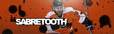 Philadelphia Flyers.  Sabretoothd