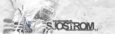 Toronto Maple Leafs.  Sjostrom