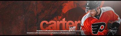 Philadelphie Flyers. Carter