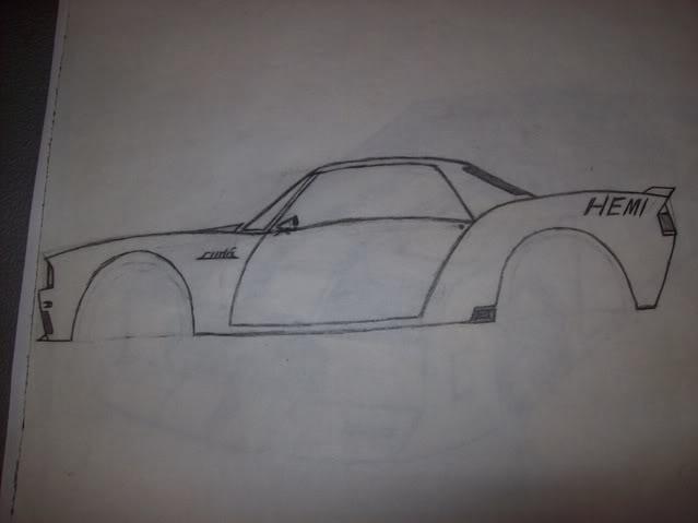 My Car Drawings...... 100_2116
