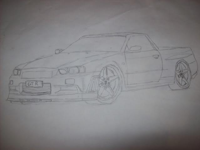 My Car Drawings...... 100_2119