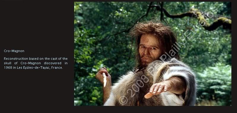 l'image de l'homme préhistorique - Page 8 Cromagnonman