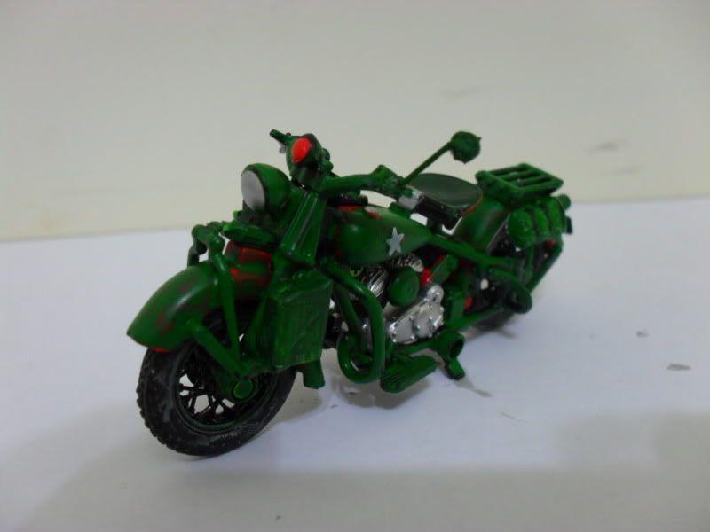 Diorama Indian motorcycle 1/32, moto pronta. SAM_2606