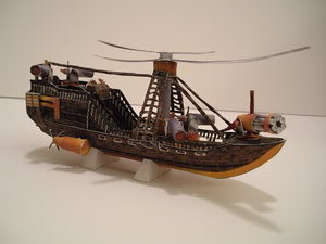 Airships and Ships (Showcase, Depository and Links) LZ__Papercraft_Airship2