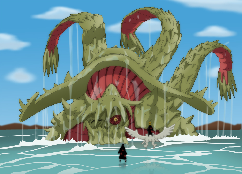 Isonade Tobi_and_Deidara_vs_Sanbi_by_shadso
