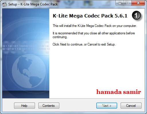 الموضوع الشامل والحصرى عن العملاق K-Lite Codec Pack 10.4.5  1