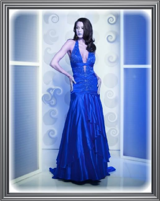 Lady in the Blue Dress Pictures, Images and Photos