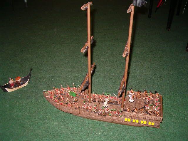 The Battle of Vercuso Bay - Naval Battle Report HPIM7634