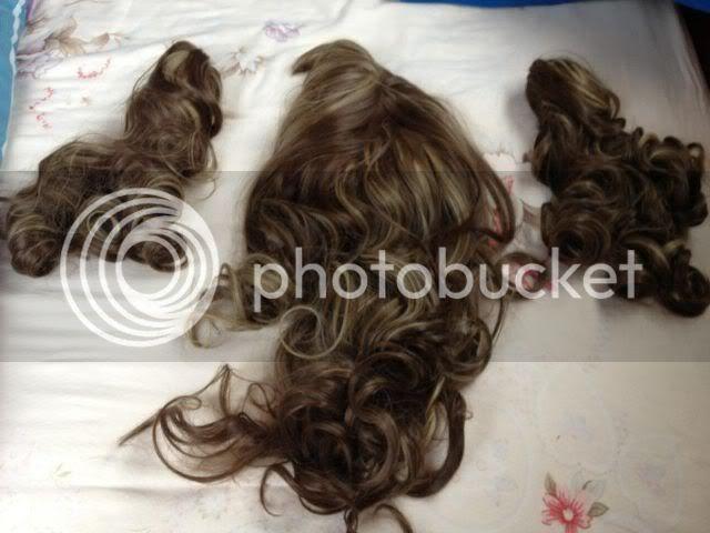 [Seller] Brown/Blonde Curly Wig with Pigtails 430986_10150439887779159_533329158_7301395_1258612122_n
