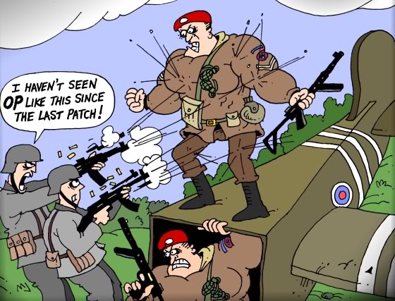 The ups and downs of being the Panzer Elite OPcommandos
