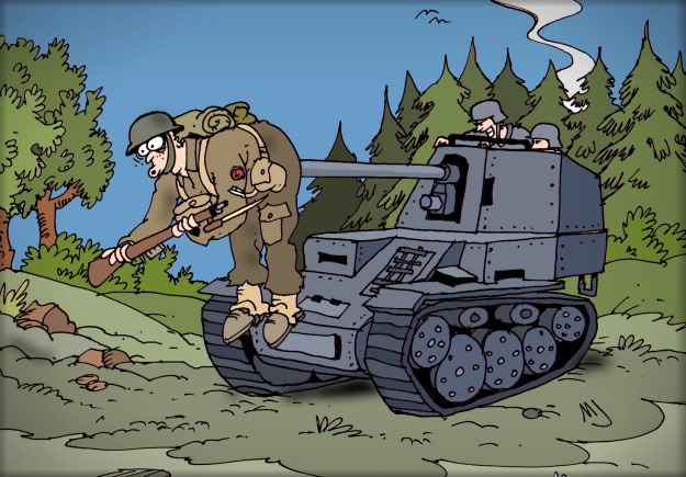 The ups and downs of being the Panzer Elite Barrelsforthebritish