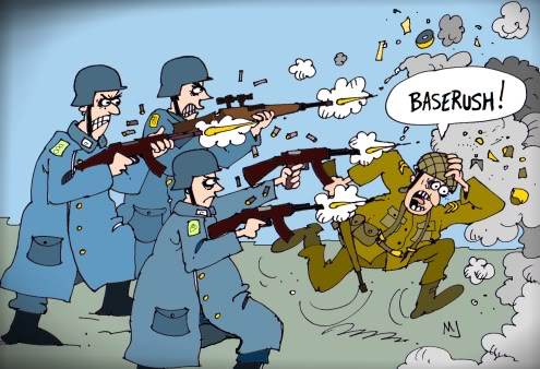 The ups and downs of being the Panzer Elite Baserush
