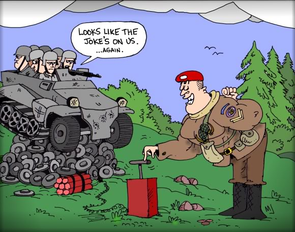 The ups and downs of being the Panzer Elite Combocommando