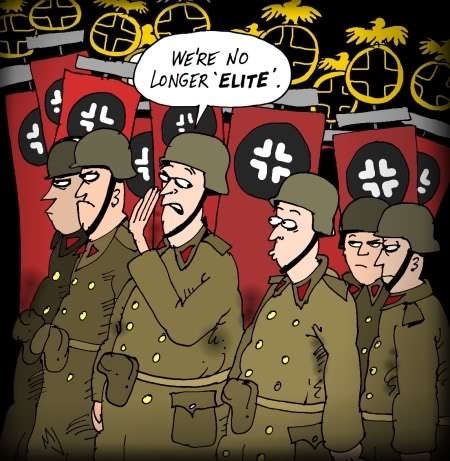 The ups and downs of being the Panzer Elite PanzerElite