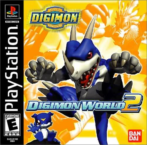 Tổng hợp Game Digimon Dòng máy Play Station 1 DidimonWorld2
