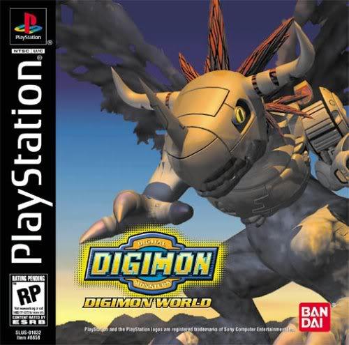 Tổng hợp Game Digimon Dòng máy Play Station 1 DigimonWorld1