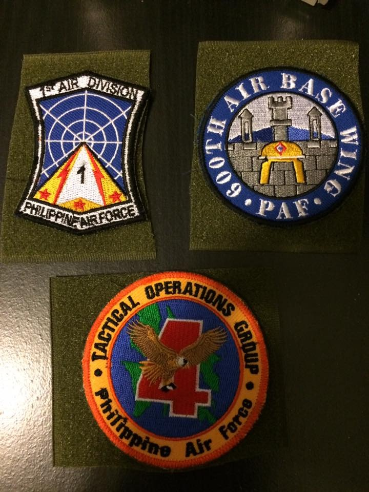 AFP  PATCHES COLLECTION 1AD