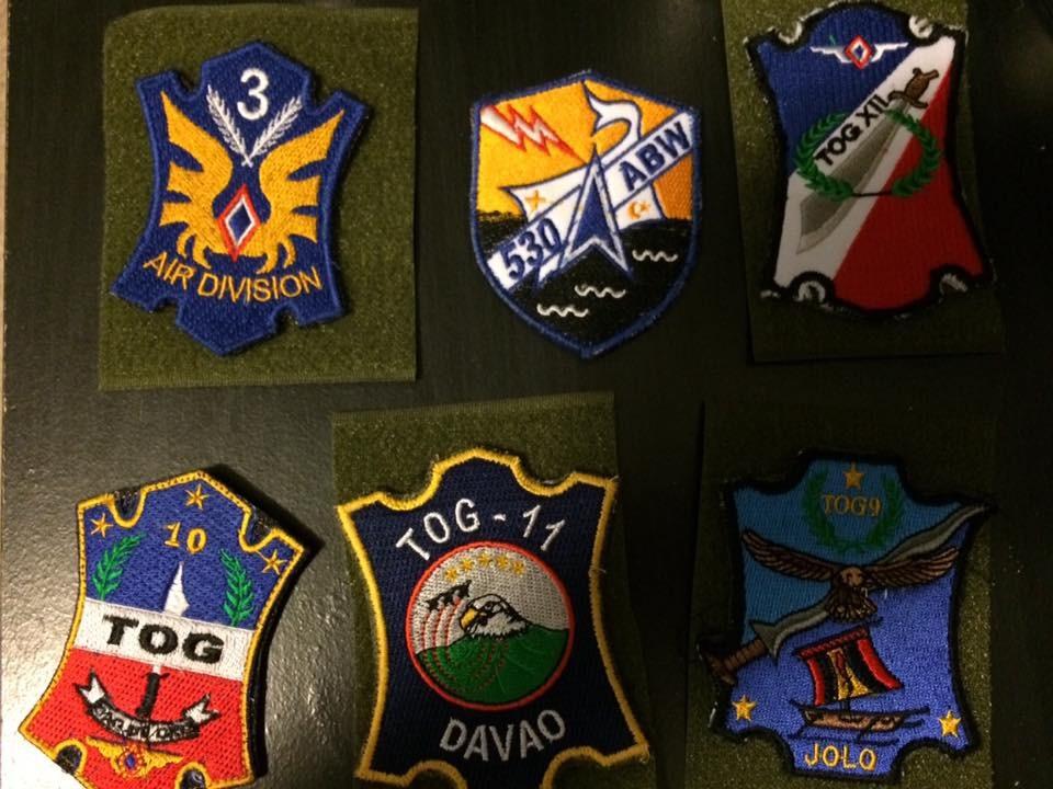 AFP  PATCHES COLLECTION 3AD