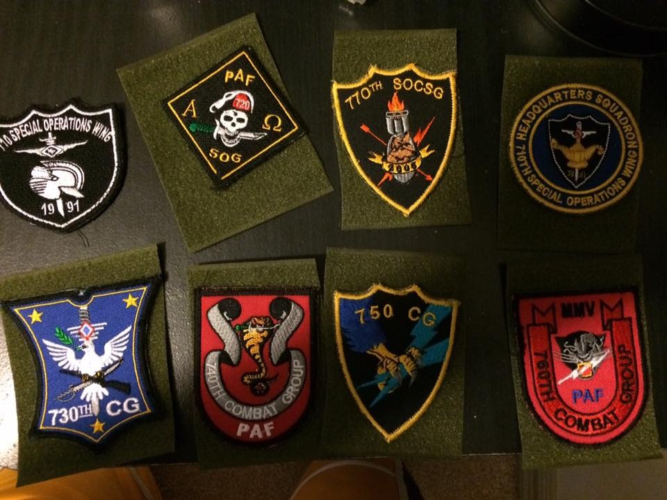 AFP  PATCHES COLLECTION 710SPOW