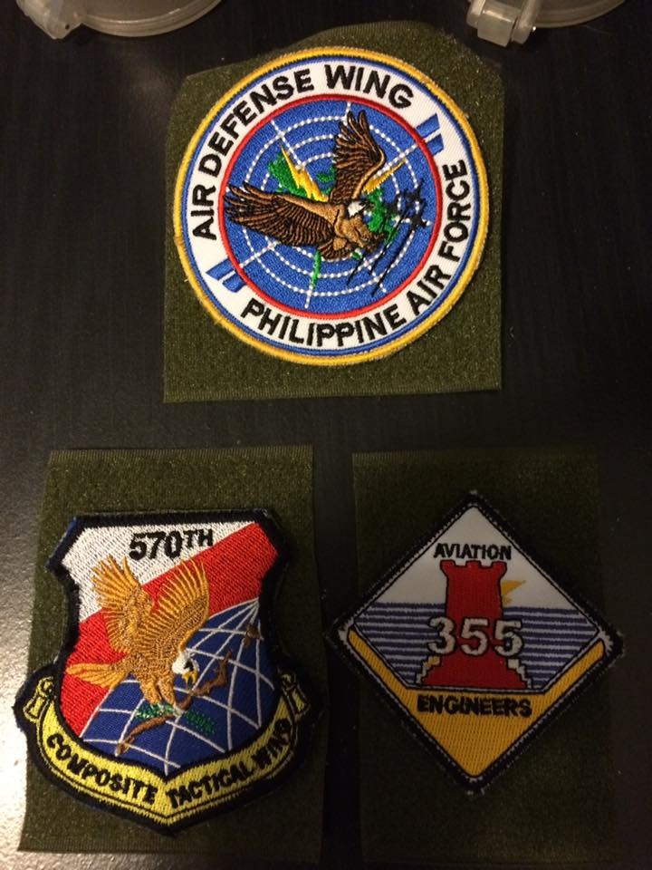 AFP  PATCHES COLLECTION ADW